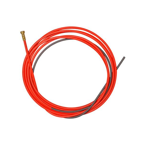 Канал направляющий для горелки СТАЛЬ 5,5м красный (1,0-1,2 мм) купить в Волгограде