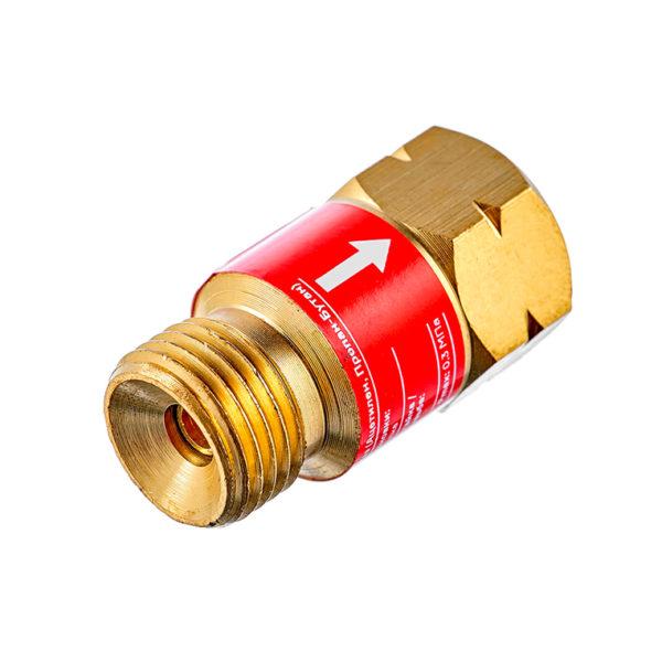 Клапан газовый обратный КГО (на резак или горелку) М16х1,5LH купить в Волгограде